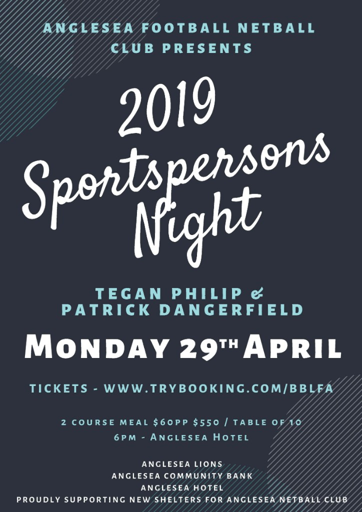 2019 sportspersons night details dark